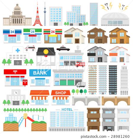 building, buildings, vector 28981260