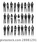 Group of business vector set collection 28981291