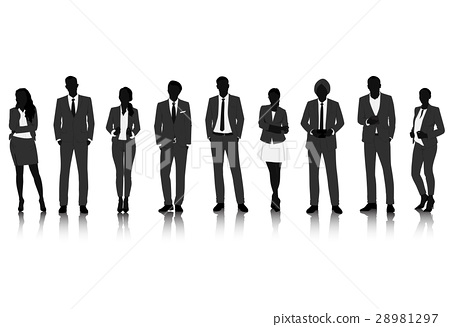 Group of business vector set collection 28981297