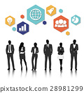Group of business vector set collection 28981299