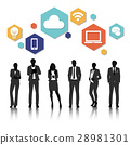 Group of business vector set collection 28981301