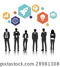 Group of business vector set collection 28981308