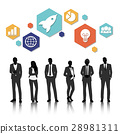 Group of business vector set collection 28981311