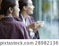 外國婦女享受旅行和日本婦女 28982136
