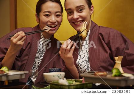 白人 外國人 日式旅店 28982593