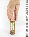 hand pick a hour glass 28983888