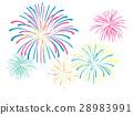Fireworks illustration 28983991