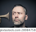 Man with trumpet 28984758