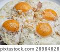 油炸的 蛋 早餐 28984828