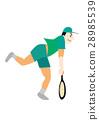 테니스 선수 28985539