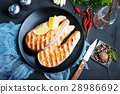 Salmon Cutting Kitchen 28986692