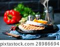 Salmon Fillet Meal 28986694