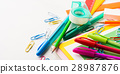 Stationery colorful school writing accessories 28987876