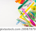 Stationery colorful school tools accessories pens 28987879