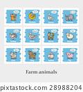 animal, farm, icon 28988204
