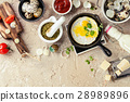 fried, eggs, quail 28989896