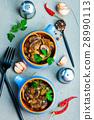 Meal Mushroom Dinner 28990113