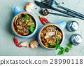 Delicious Meal Mushroom 28990118