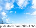 天空 藍天 白雲 28994765