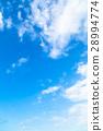 天空 藍天 白雲 28994774
