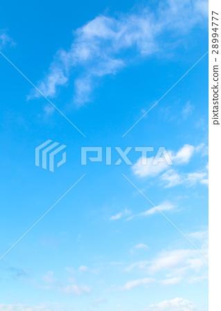 하늘 구름 푸른 하늘 흰 구름 합성 용 배경 소재 사진 소재 28994777
