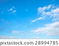 天空 藍天 白雲 28994785