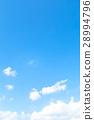 天空 藍天 白雲 28994796