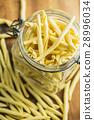 Raw italian pasta. 28996034