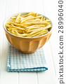 Raw italian pasta. 28996040