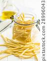 Raw italian pasta. 28996043