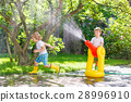 garden, hose, kids 28996910