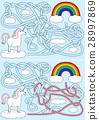 Unicorn maze 28997869