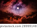 The moon on the dark sky 28999148