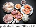 소고기, 쇠고기, 닭 28999331