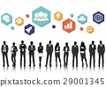 Vector UI Illustration Business People Concept 29001345
