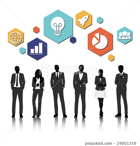 Vector UI Illustration Business People Concept 29001356