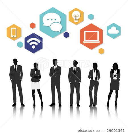Vector UI Illustration Business People Concept 29001361