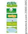 Golf material 29001905