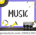Music Pop Jazz Hiphop Melody 29002383