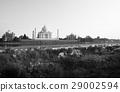 Taj Mahal Ancient Alley Agra Mughal Temple 29002594