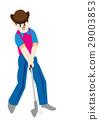 矢量 高爾夫 高爾夫球俱樂部 29003853