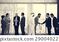 Business Partners Introductionary Handshake Bow 29004022
