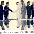 Business Partners Introductionary Handshake Bow 29004080