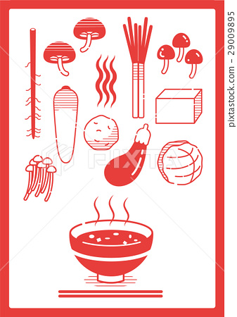 miso soup, foodstuff, icon 29009895