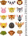 动物 卡通 一组 29011290