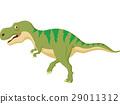 Cartoon tyrannosaus rex 29011312
