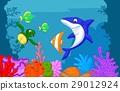 Sea life cartoon 29012924
