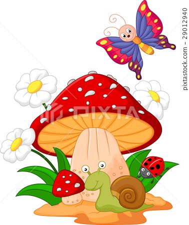 Small animal cartoon 29012940
