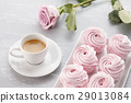 marshmallow, zephyr, coffee 29013084