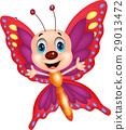 나비, 밑그림, 벡터 29013472